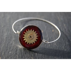 Bracelet fin argent étoile...