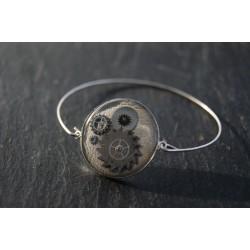 Bracelet fin argent gris...