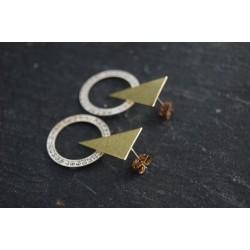 Boucle d'oreille triangle...